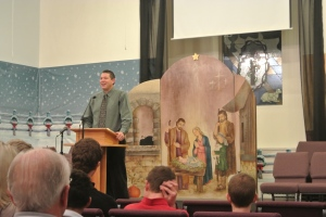 Pastor Greg  - the encourager of the saints