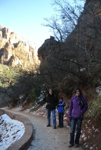 Zion - The Emerald Pool and Par'Us Trails - January 4th 2013 015