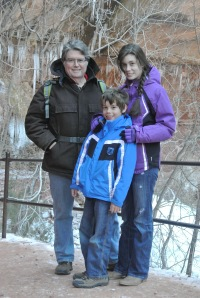 Zion - The Emerald Pool and Par'Us Trails - January 4th 2013 044