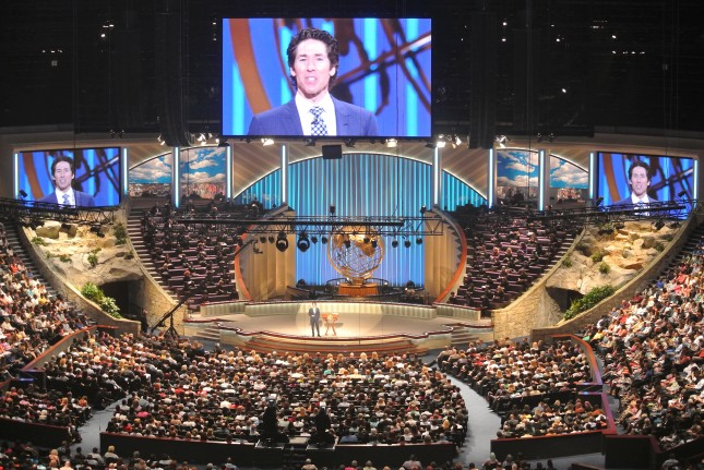 Sermon delivered by Pastor Joel Osteen